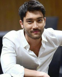 Siwon is sexy  Oh God!! //His beard  #siwon #superjunior #handsome #cute #sexy…