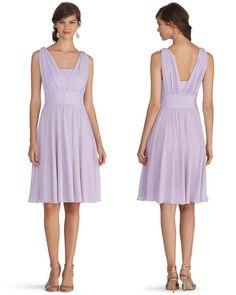 White House | Black Market Genius Convertible Peri Bridesmaid Dress #whbm