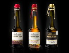Calvados Chateau Du Breuil - La Gamme on Packaging of the World - Creative Package Design Gallery