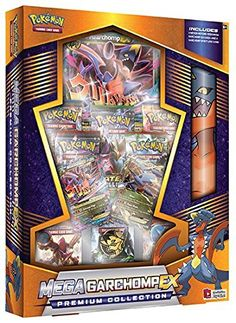 Description Harness the power of Mega Evolution with the Pokémon TCG: Mega Garchomp-EX! The Pokémon TCG: Mega Garchomp-EX Premium Collection includes: Pokemon Card Packs, Pokemon Tins, Rare Pokemon Cards, Pokemon Trading Card, Pokemon Pokemon, Trading Cards, Spiderman Ps4 Wallpaper, Mega Evolution Pokemon, Papercraft Pokemon