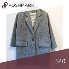 Grey coat size:s Simple style, grey color, good condition, size:s Jackets & Coats Pea Coats