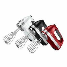 KitchenAid® 9-Speed Digital Hand Mixers - BedBathandBeyond.com