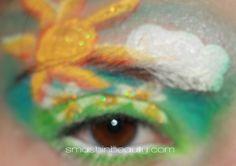 #makeupmonday fail Spring Easter Egg makeup