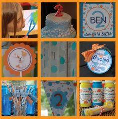 Bubble Guppies Birthday Party {Coolest Birthday} via TipJunkie.com