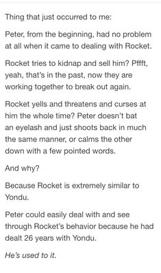 Why Peter had no problems dealing with Rocket <--- kinda disagree, they fought a lot in vol. Dc Memes, Marvel Memes, Marvel Dc Comics, Marvel Avengers, The Villain, Guardians Of The Galaxy, Marvel Cinematic Universe, Deadpool, Nerdy
