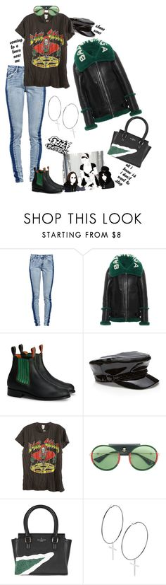 """My Day: Concert Tickets"" by dianefantasy ❤ liked on Polyvore featuring Balenciaga, Gucci and Nasty Gal"