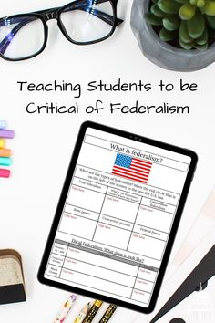 Federalism may be a tough topic to learn about but with the right lesson components, students will gain a much deeper understanding not only on what federalism is but how it works. Read about how I teach federalism #hsgovernment #government #federalism #notanotherhistoryteacher
