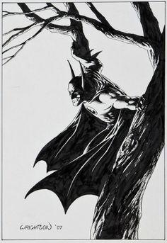 Batman by Bernie Wrightson | issyparis