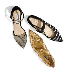 Strappy flats - a trend we can certainly get behind!