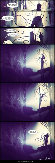 "Slender : The Game. Ending? by Paradoxoid<<<<<<< no it's more like ""you have unlocked daytime mode"" "" holy shit"""