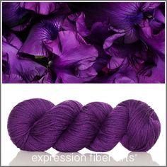 Expression Fiber Arts, Inc. - IRIS - 'COZY' Limited Edition Worsted Wool Yarn