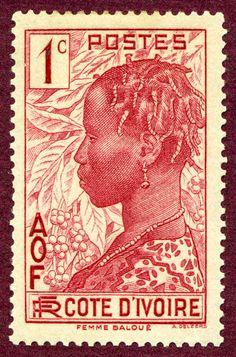 Côte D'Ivoire Stamp