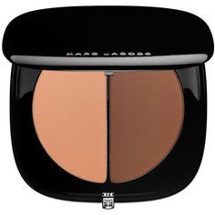 Marc Jacobs #instamarc Light Filtering Contour Powder (900 MXN) ❤ liked on Polyvore featuring beauty products, makeup, face makeup, face powder and marc jacobs