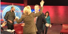 Chris Christie Caught On Camera Seeking Hug From Hillary Clinton on the CNN stage - WND