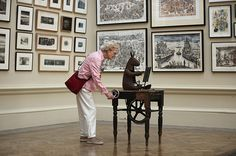 art exebition visitors  | ... Show: A visitors looks at art in the Royal Academy's Summer Exhibition