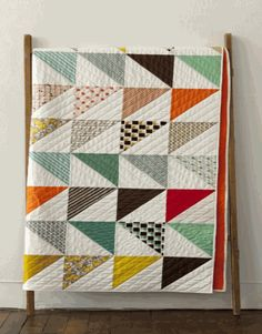 Sewing Pattern, Denyse Schmidt Quilt, In This Corner