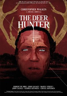 The Deer Hunter - Vector movie poster by GABZ.