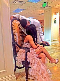 That dress tho! Loving it