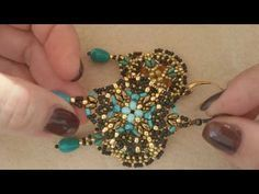"Tutorial orecchini ""Promise"" (Prima parte) - YouTube"