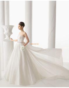 Eglise Traîne moyenne Zip Robes de mariée 2015