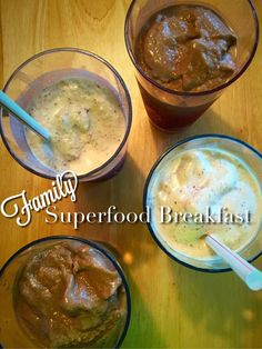 Healthy Recipes, Breakfast ideas, Superfoods, Shakeology