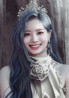 """""""TWICE ROYAL PROJECT Unnie Line Fanart I did for Twice having their concert in our country for the first time! I drew them all as royalty, and in their assigned colors matching the lightsticks. Nayeon, Kpop Girl Groups, Korean Girl Groups, Kpop Girls, Daehyun, Twice Fanart, Best Kpop, Twice Dahyun, Twice Kpop"""