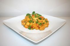 Curry gnocchi with chicken - Health and fitness - Salat Healthy Recipes On A Budget, Cooking On A Budget, Budget Meals, Sicilian Recipes, Greek Recipes, India Food, Finger Foods, Food Inspiration, Food Porn
