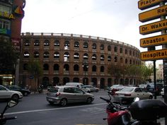 La Plaza de Toros, Valencia-not too far from my house! Good memories there!