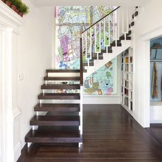 Open Tread Stair Design, Pictures, Remodel, Decor and Ideas