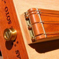 cigar box guitar bridge - Google Search