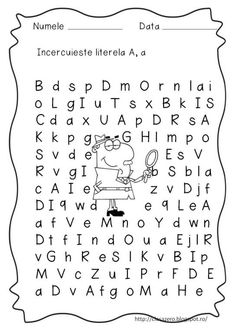 Preschool Activities, Alphabet, Education, Montessori, Basket, David, Full Bed Loft, 1st Grades, Alpha Bet