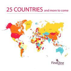 FineDine Tablet Menu is proud to serve customers all around the world. #cafemenu #tabletmenu #restaurantmenu #cafe #ipadmenu   #digitalmenu   #menu   #menuapp