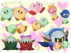 Kirby back at ya Pokemon, Pikachu, Toon Squad, Kirby Character, Meta Knight, Super Smash Bros, Learn To Draw, Cute Art, Cute Pictures