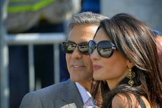 George and Amal's wedding today!