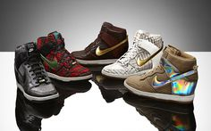 Five cities, five styles. The Nike Dunk Sky Hi City Pack features five classic Nike Dunk styles, inspired by each of the five cities. #nike #nikedunk #new