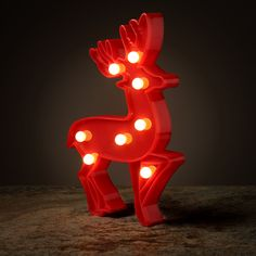 Decorative Christmas LED Light - Reindeer Add colour and style to your home with our range of LED lights. Complete with LED lights that require Special Events, Reindeer, Range, Decorations, Touch, Led, Colour, Lights, Garden