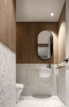2020 interior home trends - Terrazzo. Bathroom Red, Bathroom Toilets, Modern Bathroom, Small Bathroom, Bathrooms, Ikea Bathroom, Washroom Design, Bathroom Interior Design, Bad Inspiration