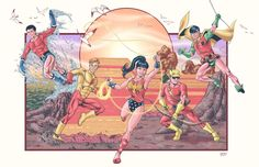 TEEN TITANS: THE GROOVY YEARS! by Alex Garcia