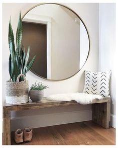Home Living, Living Room Decor, Bedroom Decor, Small Living, Wall Decor, Bedroom Interiors, Living Room Mirrors, Wall Lamps, Apartment Living