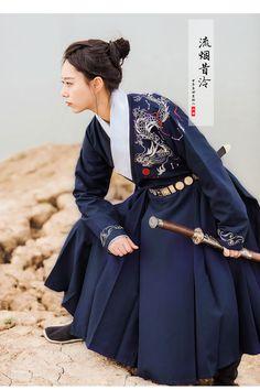 "hanfugallery: ""men's hanfu by 流烟昔泠 """