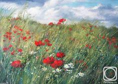 ... / Painting / Sterkhov Konstantin / The artworks / Poppy Field-2-2010