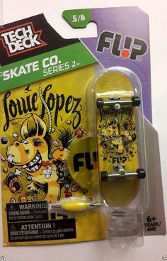 Tech Deck Flip TD Skate CO. Series 2 Louie Lopez Fingerboard 96mm    eBay