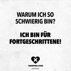 Unglaubliche Warum bin ich so rigide? - VISUAL STATEMENTS® Visual Statements®️️️ Warum bin ich so s. Girl Quotes, Funny Quotes, Short Messages, Quotation Marks, Truth Of Life, Sarcasm Humor, Visual Statements, Workout Humor, Live Love