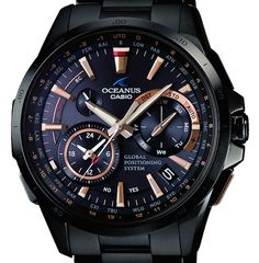 Three New Casio Oceanus Models To Feature Hybrid Timekeeping System Merging GPS And Radio Signal Syncing watch releases