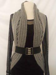 Crochet Circular Vest