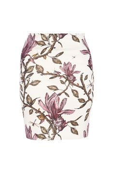 Tube skirt with orchids, foliage and inhabiting insects by Bruuns Bazaar.