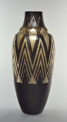 Laurent Llaurensou Exceptional Dinanderie Vase  copperware Excellent condition French circa 1930