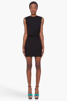 DSQUARED2 Black Open Back Dress