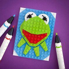 #LEGO Kermit: It's Not Easy Being Green