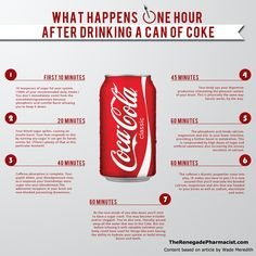 coke1hr What Happened To You, What Happens When You, Coca Light, Low Carb Paleo, Vida Low Carb, Health Tips, Health And Wellness, Health Zone, Health Articles